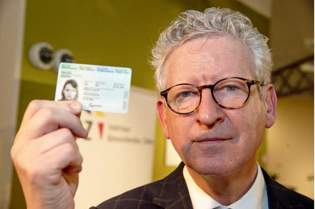 Une récompense internationale pour le nouveau document eID belge