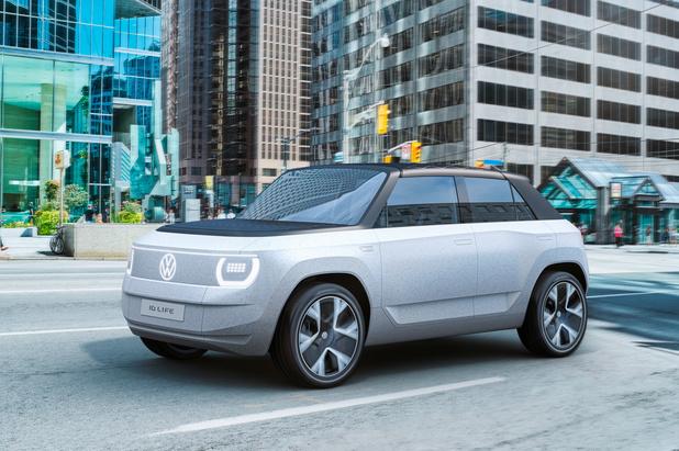 VW ID. LIFE toont de weg