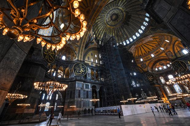 Istanbul: Sainte-Sophie ouverte aux visiteurs en dehors des heures de prières musulmanes