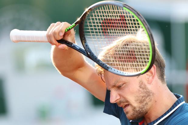 David Goffin éliminé dès le premier tour à l'US Open