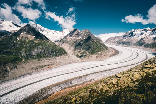 Le glacier d'Aletsch, le plus grand des Alpes, pourrait disparaître d'ici 2100