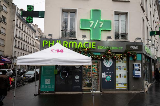 Franse apothekers gaan vaccineren tegen covid-19