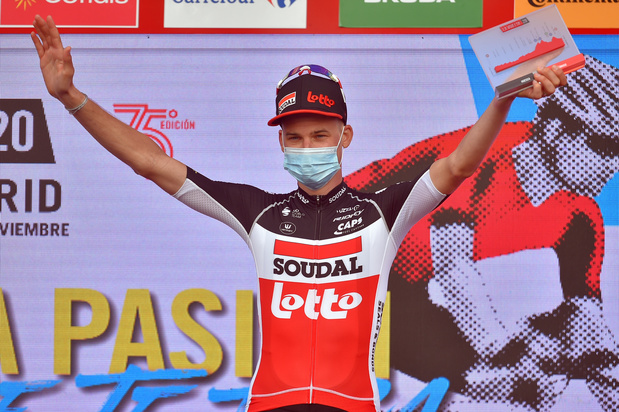 Tour d'Espagne : Tim Wellens gagne la 5e étape, tandis que Primoz Roglic reste en tête
