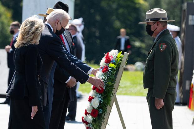 Biden défend le retrait d'Afghanistan en marge de l'anniversaire du 11-Septembre
