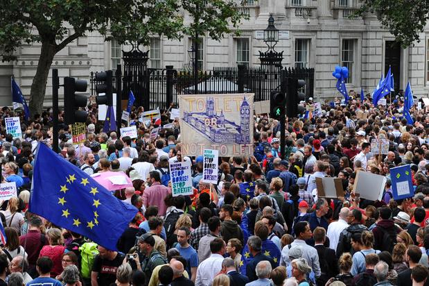 Brexit: une pétition contre la suspension du Parlement britannique dépasse le million de signatures