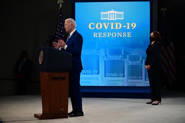 """Biden: """"La guerre contre le Covid-19 est loin d'être gagnée"""""""