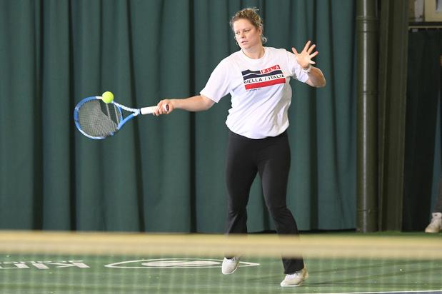 Kim Clijsters veut d'abord se concentrer sur son niveau, pas sur les résultats