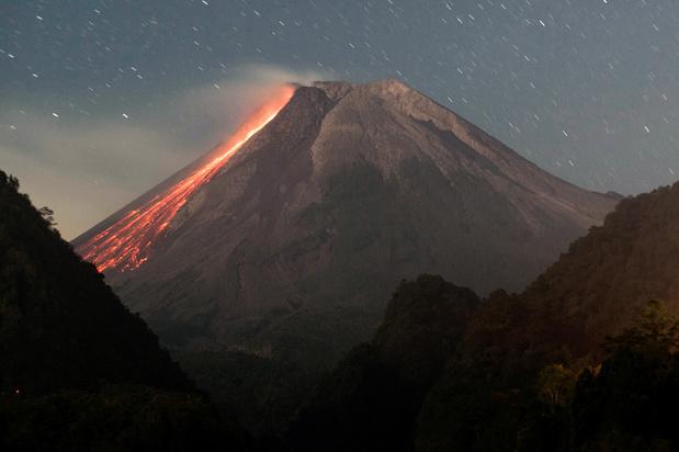 Zeespiegel beïnvloedt vulkaanuitbarstingen