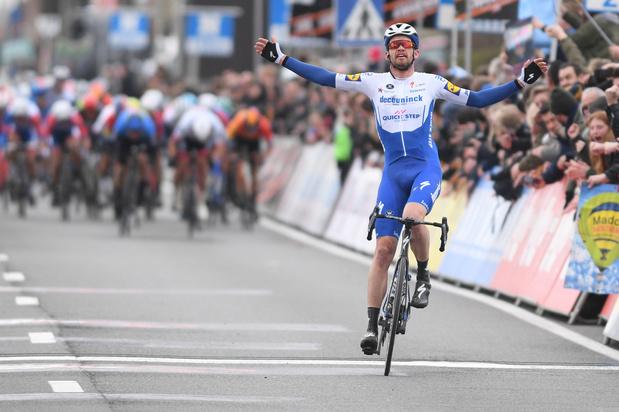 Kuurne-Brussel-Kuurne: Kasper Asgreen triomfeert na solo