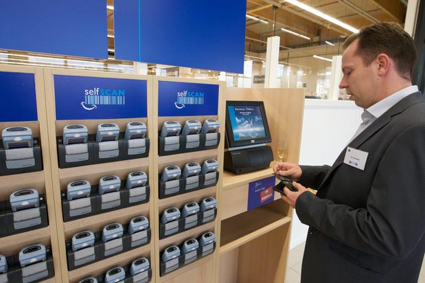 Supermarkten zonder kassiers