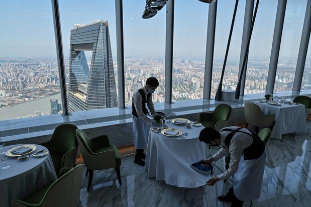 Hoogste hotel ter wereld opent deuren in Shanghai