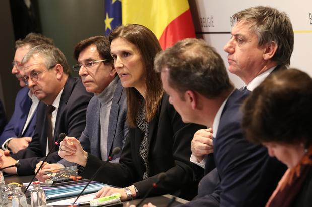 Le gouvernement belge propose 1 milliard d'euros pour lutter contre le coronavirus