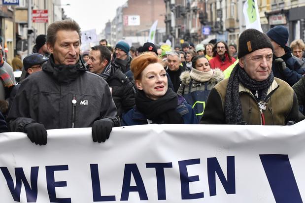 VRT-personeel komt op straat: 'De openbare omroep is meer dan ooit nodig'