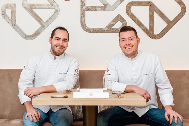 """Jean Vrijdaghs et Sébastien Hankard du Gastronome: """"On a eu l'étoile pour ce qu'on a fait, pas pour ce qu'on va faire"""""""