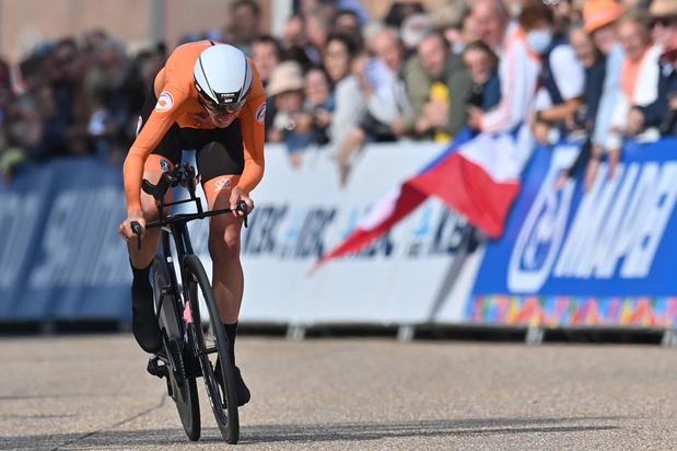 Mondiaux de cyclisme: Ellen van Dijk s'offre le titre mondial dans le contre-la-montre