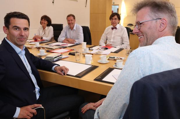 Formation wallonne: Vision régionale, climat et économie au menu des consultations PS-Ecolo
