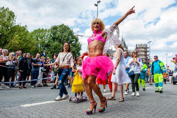 Ook in 2021 geen grote parade tijdens Antwerp Pride