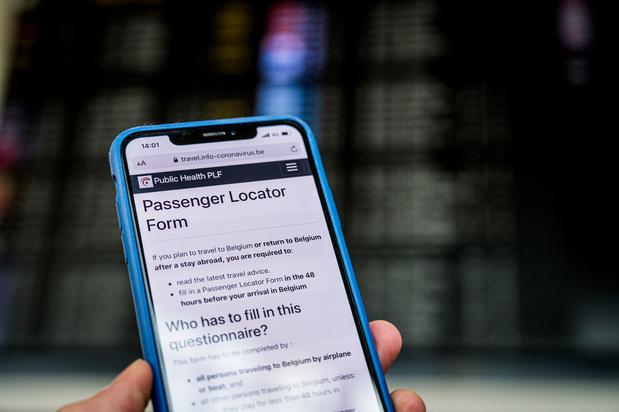 La moitié des voyageurs ne remplissent pas le formulaire PLF