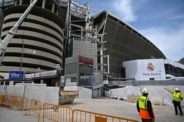 Coronavirus: quand le Real Madrid transforme son stade en gigantesque centre d'approvisionnement de matériel sanitaire (photos)