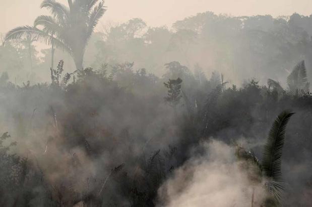 Amazonie: le G7 annonce une aide d'urgence pour une flotte d'avions bombardiers d'eau