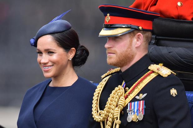 Première apparition de Meghan, épouse du prince Harry, depuis la naissance de leur fils