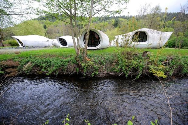 Vosges: les maisons-bulles Häusermann adjugées 360.000 euros