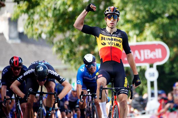 Tour de Grande-Bretagne: Troisième étape pour Van Aert taille patron, Hayter conserve son maillot de leader