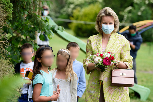 Visite royale : la reine Mathilde s'est rendue dans une association d'aide à la jeunesse à Genappe