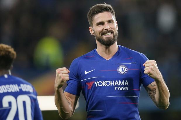 Olivier Giroud prolonge à Chelsea