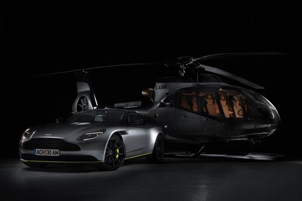 Aston Martin: et maintenant les hélicoptères