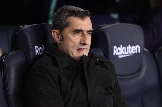 Le Barça s'apprête à licencier Ernesto Valverde