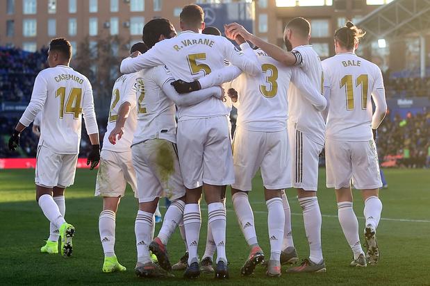 Un Courtois réactif contribue à la confortable victoire du Real (0-3)