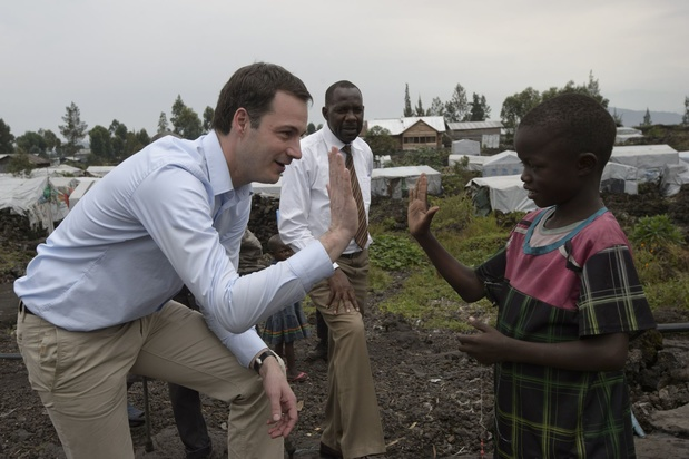 Alexander De Croo: 'Onze ontwikkelingshulp in Congo is geen Wiedergutmachung'