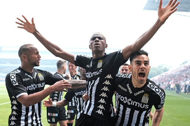 Victor Osimhen inscrit le but le plus rapide de la Pro League lors d'Antwerp-Charleroi