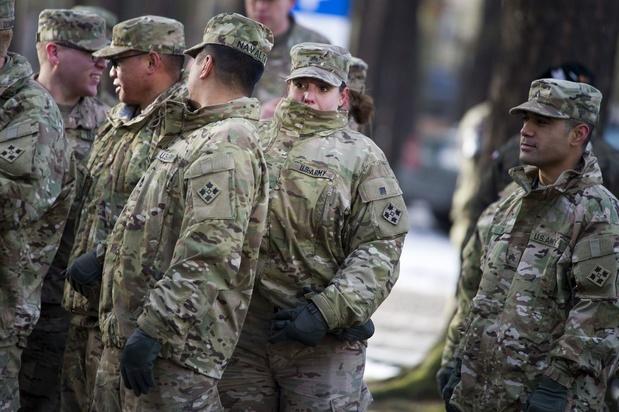 Washington va repositionner 11.900 militaires en Belgique et en Italie