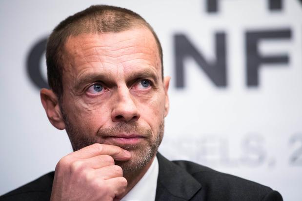 UEFA-voorzitter Ceferin: 'Geld mag nooit de bovenhand nemen in het voetbal'
