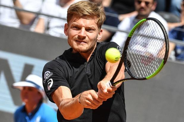 David Goffin recule à la 30e place du classement ATP