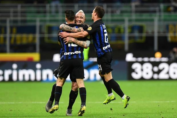 L'Inter et Radja Nainggolan entrevoient la Ligue des Champions