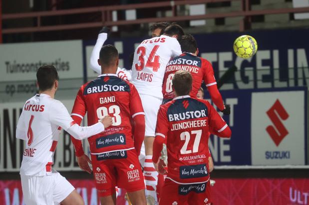 Standard plaatst zich in Kortrijk via strafschoppen voor kwartfinales beker