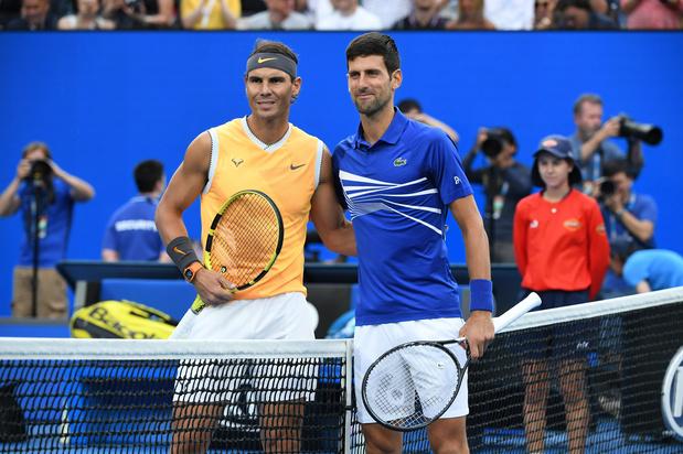 Wie wordt de beste tennisser aller tijden: Federer, Nadal of toch nog Djokovic?