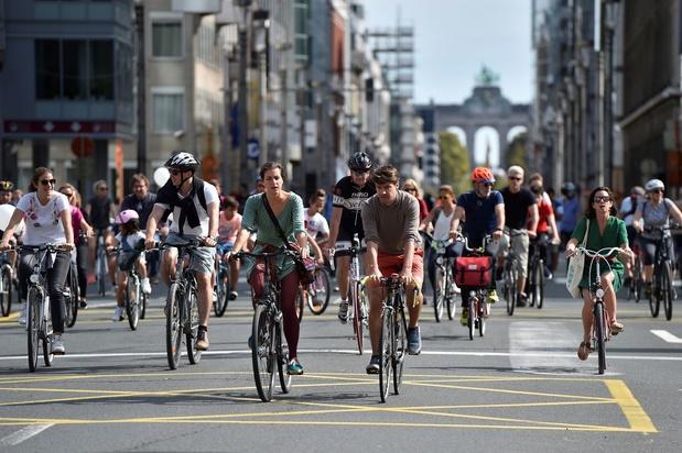 Un dimanche sans voiture à Bruxelles, mais aussi dans quelques villes wallonnes