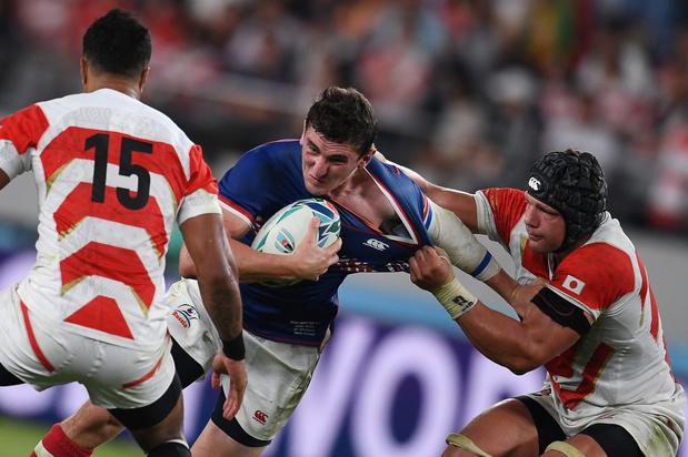 Japan opent WK rugby met zege tegen Rusland