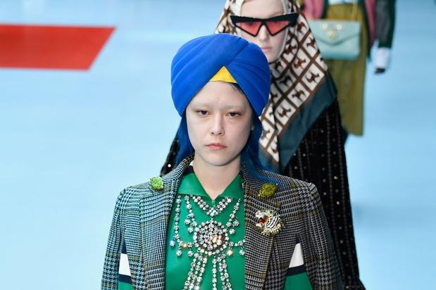 Gucci opnieuw op de vingers getikt: 'Tulbanden zijn geen mode-accessoire'