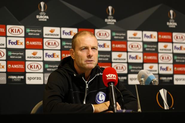 Gent-coach Thorup voor Wolfsburg: 'Het is nu onze kans om te tonen dat we Wolfsburg kunnen verslaan'