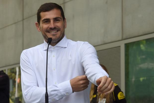 """Casillas dément l'arrêt de sa carrière : """"Tout va bien"""""""