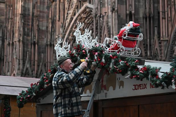 Un an après, le marché de Noël de Strasbourg veut dépasser le traumatisme de l'attentat