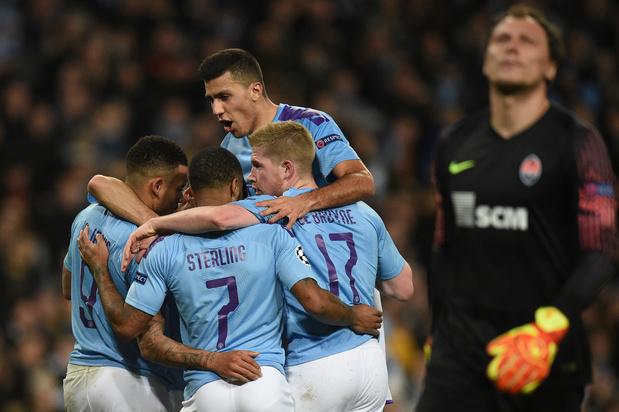 Ligue des champions: le grand huit pour Manchester City