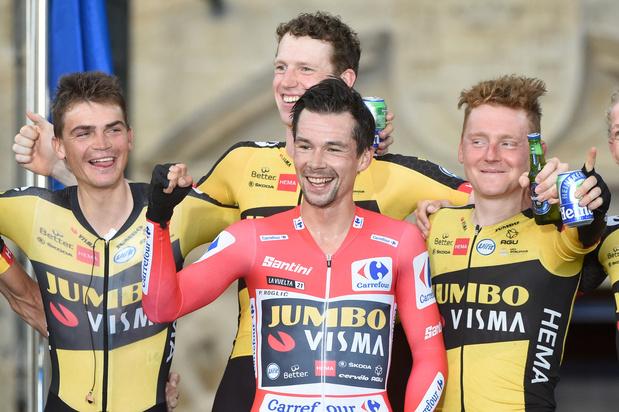 Primoz Roglic remporte son troisième Tour d'Espagne