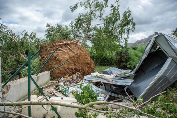 Luxembourg: 19 personnes blessées par le passage d'une tornade