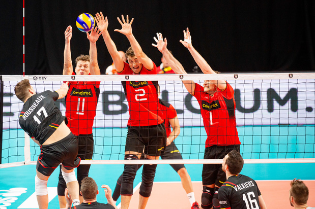 Volley: Malgré une troisième défaite en quatre matches, les Red Dragons peuvent encore rêver de 1/8e